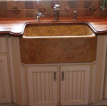 Farmhouse Sink Mounting Options : Dupont Farmer Sink