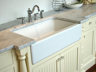 Installing A Farmhouse Sink : Apron Front, Farmhouse Sink Installation are all different. Counter ...