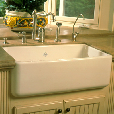 Installing A Farmhouse Apron Front Sink : Apron Front, Farmhouse Sink Installation are all different. Counter ...