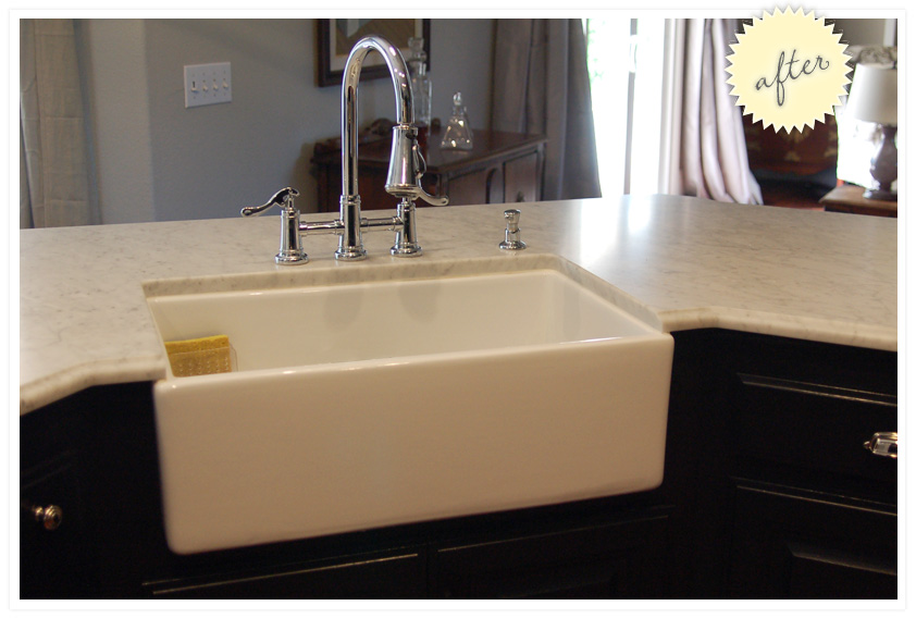 Apron Front, Farmhouse Sink Installation are all different. Counter ...