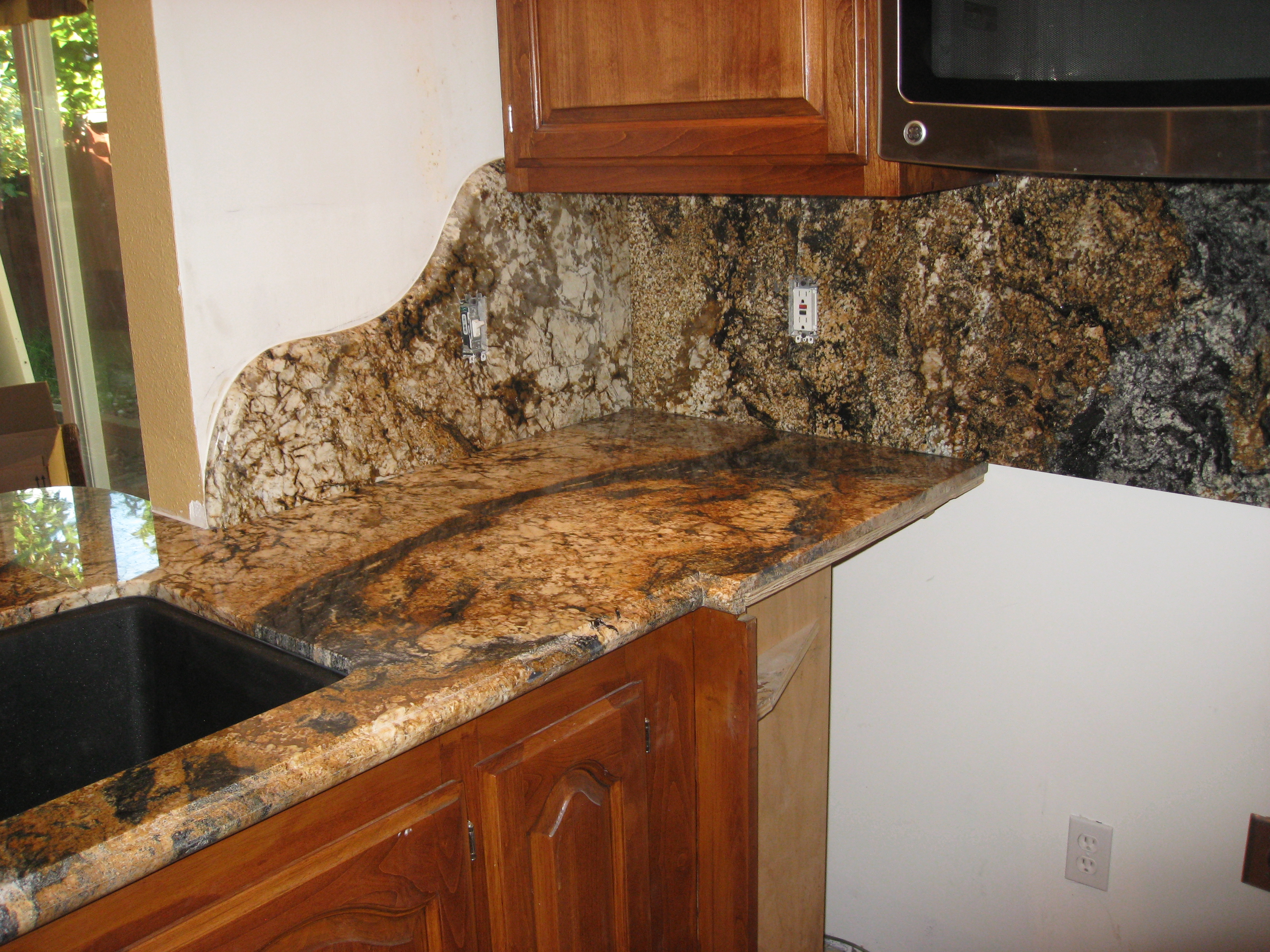 Magma Gold Kitchen Slab Counter Culture